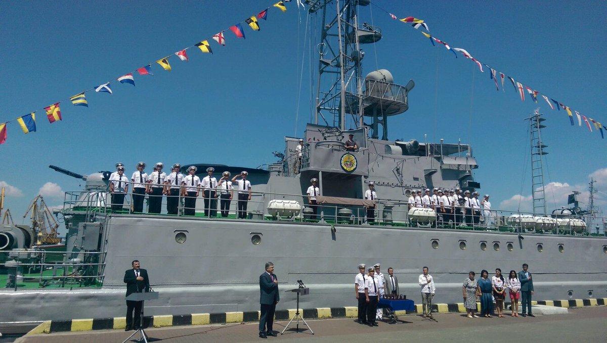 Президент прибыл в Одессу