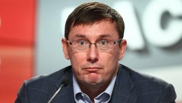 Луценко объяснил почему никто официально не ищет Онищенко