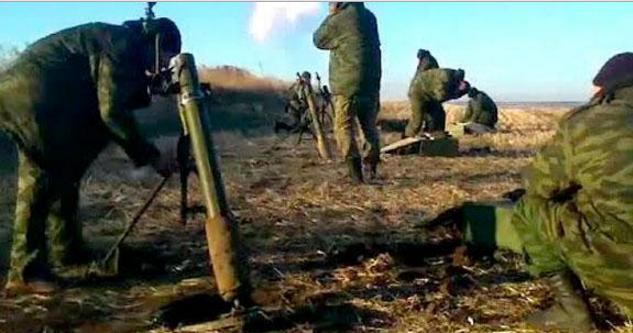 Боевики всю ночь палили из пулеметов и запрещенных минометов, — штаб
