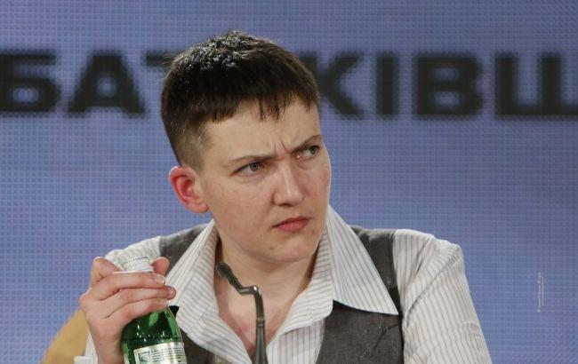 Савченко заявила, что Украине необходима диктатура