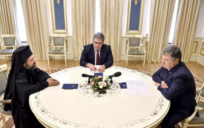 Порошенко встретился с представителем Вселенского Патриархата