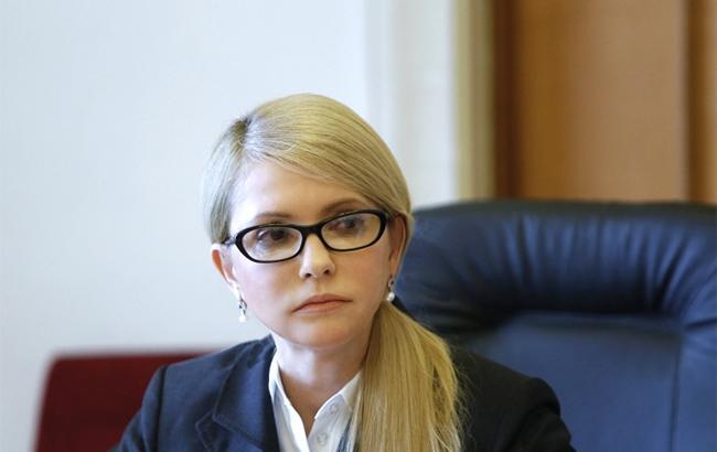 Тимошенко заявляет, что все силовые структуры готовы к репрессиям против оппозиции