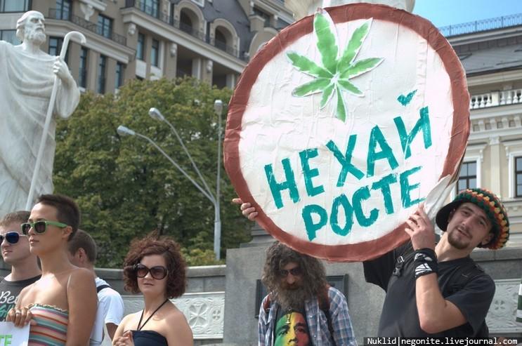 Во Львове проведут марш свободы за легализацию конопли