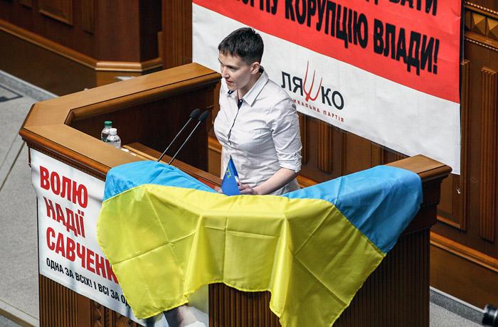«Не царица она вам никакая. Несите-ка вы ей разбитое русское корыто» — Аваков «сказочно» высмеял Савченко