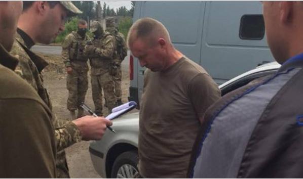 На Донбассе задержан заместитель командира 53-й бригады (ФОТО)