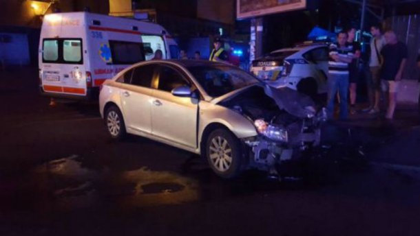 Полицейские совершили ДТП в Киеве: есть пострадавшие (ФОТО)