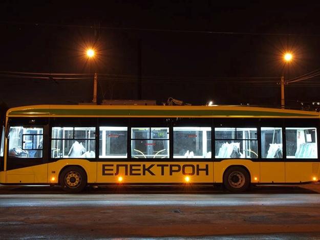 Как львовский троллейбус «Электрон» не прошел простейшее испытания (Видео)