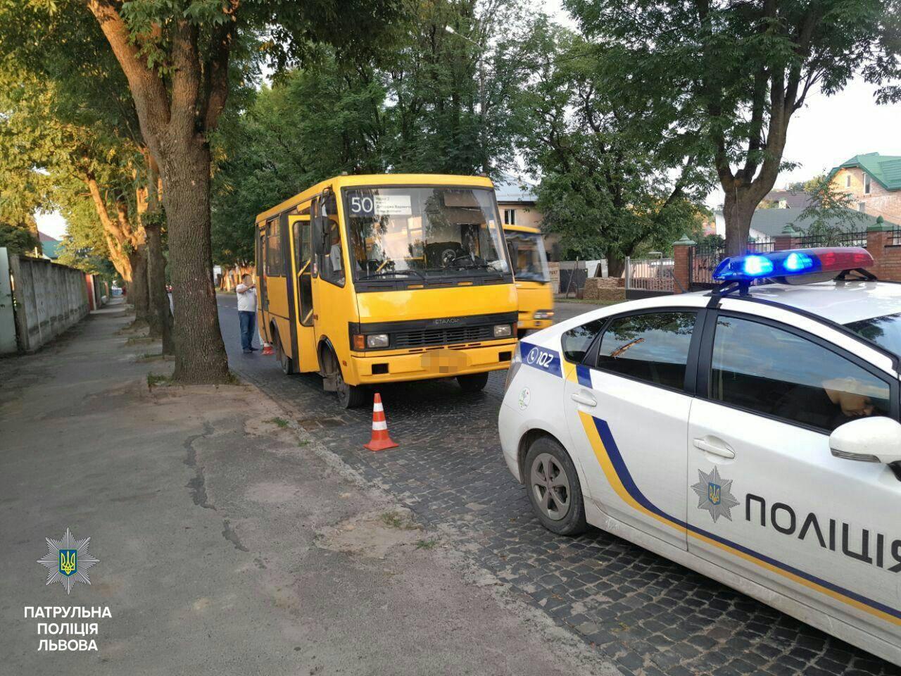«Серега, я не пьян», – нетрезвый водитель маршрутки совершил во Львове две аварии