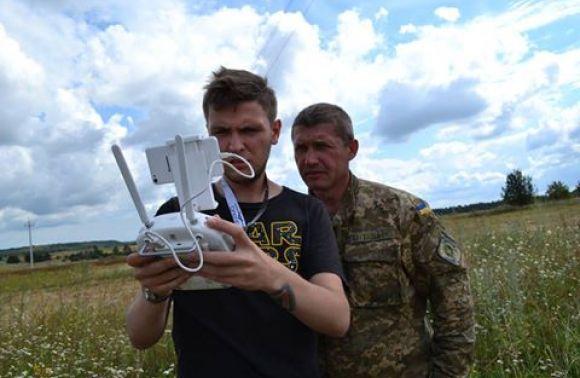 На Львовщине обнаружили два места взлета и посадки летательных аппаратов контрабандистов (видео)