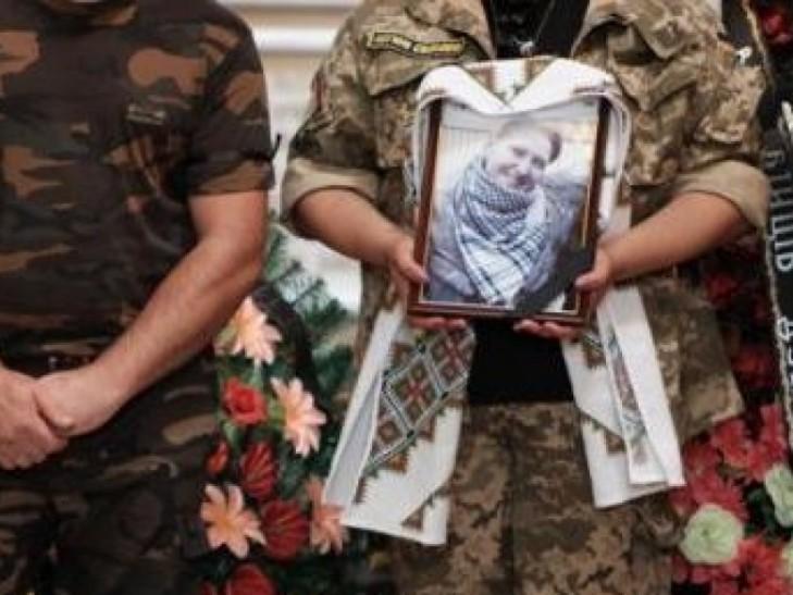 """Черновцы прощались с героической разведчицей """"Лысой"""" (ВИДЕО)"""