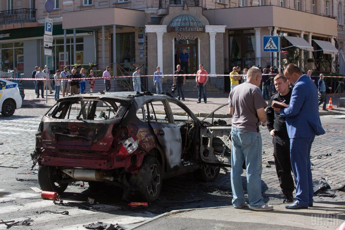 Следствие разыскивает свидетеля заложения взрывчатки под автомобиль, в котором погиб Шеремет