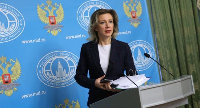 «Представитель МИД РФ Мария Захарова заявила, что украинцы просто не выживут без России»