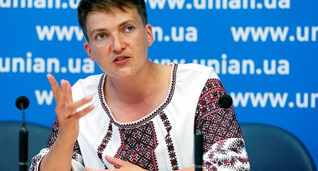 Голодающая Савченко уехала в США на званный ужин, где будет представлять интересы Украины