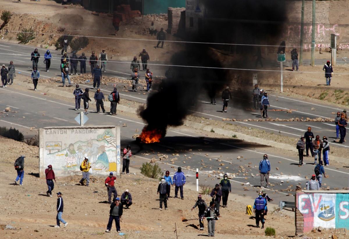 Протестующие похитили и убили заместителя Министра внутренних дел в Боливии