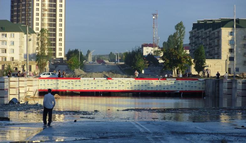 Ураган в Чечне уничтожил более 70 домов и затопил резиденцию Кадырова (видео)