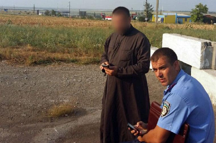 Священник вез из зоны АТО противотанковые гранатометы, чтобы глушить рыбу