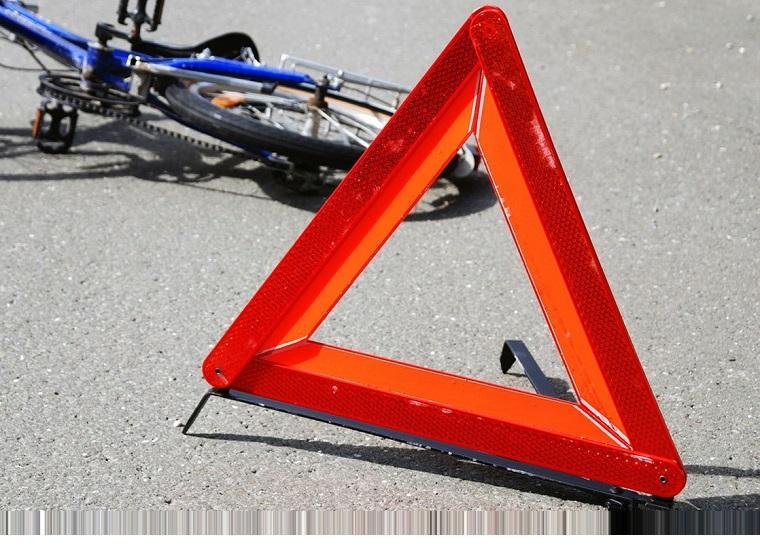 Водитель сбил велосипедиста и умер от волнения