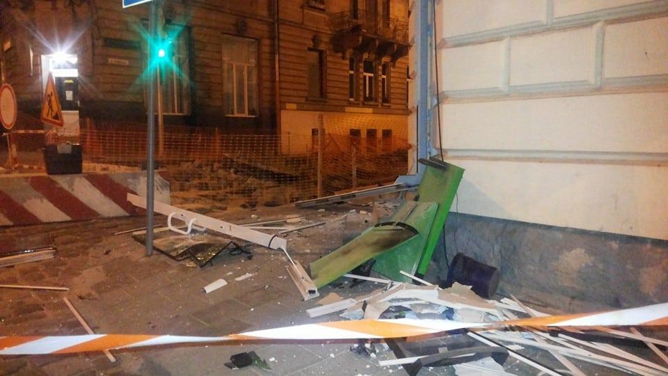 Во Львове ночью прогремел мощный взрыв (фото)