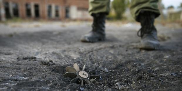На донецком направлении боевики выпустили по силам АТО 150 мин, — пресс-центр
