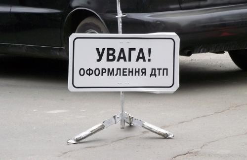 Во Львовской обл. столкнулись две иномарки: три человека пострадали, из них один – ребенок