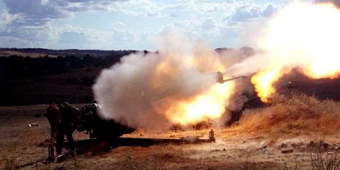 Боевики за минувшие сутки 56 раз обстреляли позиции сил АТО, — пресс-центр