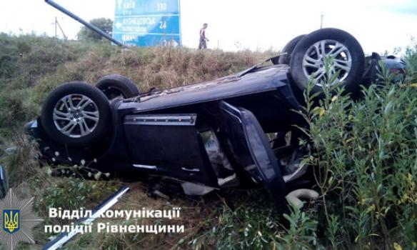 В Ровенской области столкнулись две легковушки: погиб 13-летний мальчик