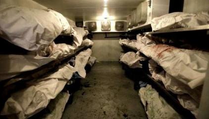 В Донецке нашли склад, забитый трупами российских военных, — соцсети