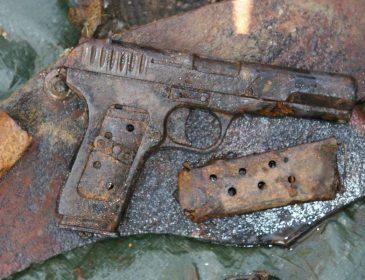 В церкви на Львовщине нашли пистолет
