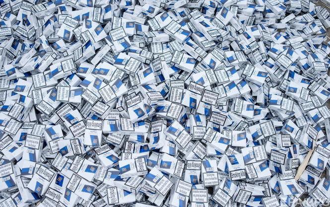 Табачная мафия: на Львовщине изъяли контрабандные сигареты на несколько миллионов гривен