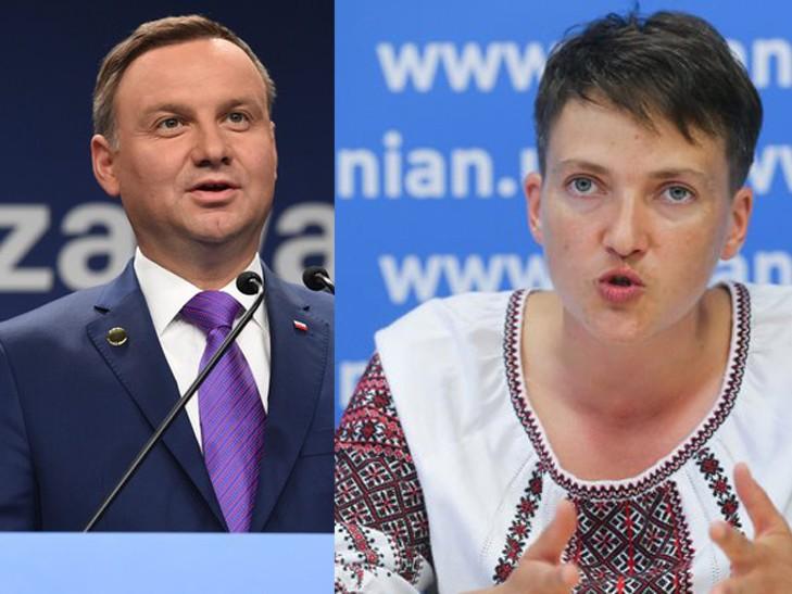 Тимошенко сделает из Савченко украинского Дуду?