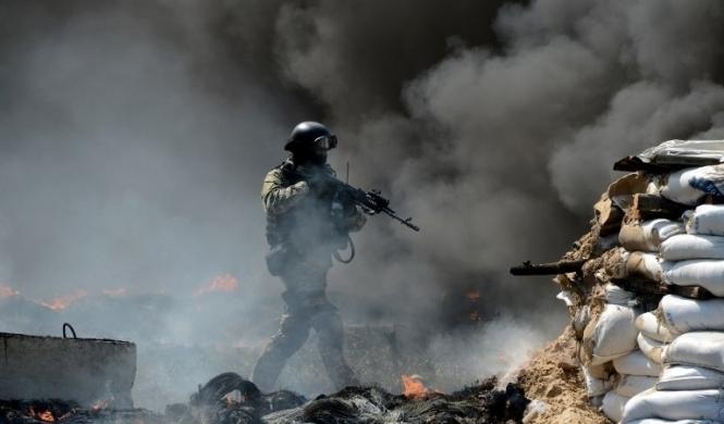 Оккупанты обстреляли Авдеевку из танков