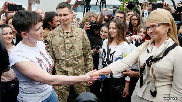"""Тимошенко """"нокаутировала"""" Савченко и оставила за собой """"право фюрера"""" в рядах ее партии – Павел Нусс"""