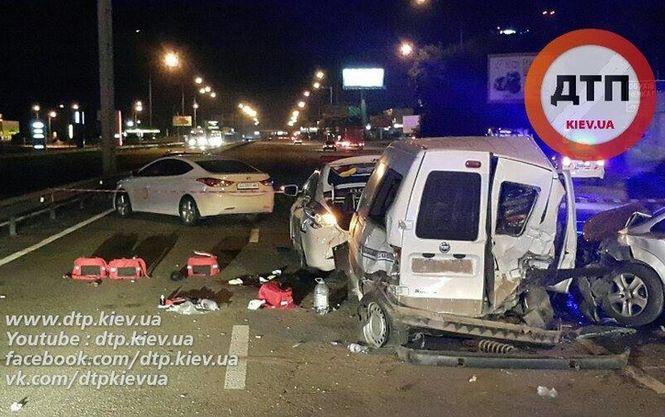 Сбившего двух полицейских в Киеве водителя арестовали с правом залога в более чем миллион гривен
