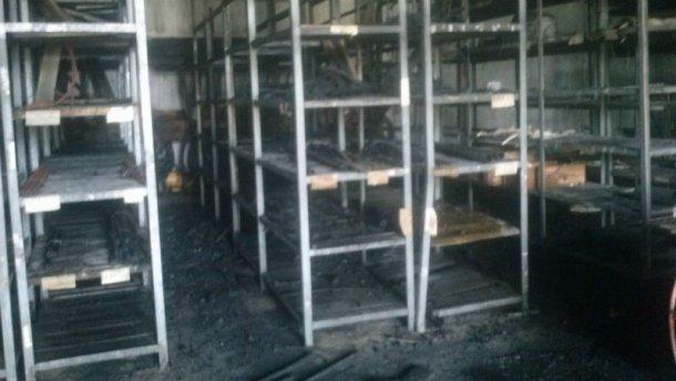 Серьезный пожар в Виннице: горел авиаремонтный завод