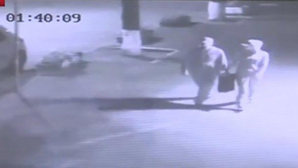 Появилось новое видео с подозреваемыми в убийстве Шеремета