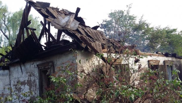 Донбас превратился в ужасную руину