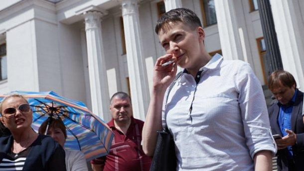 Савченко договорилась с террористами об обмене