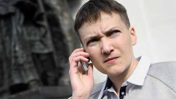 Савченко провела ночь под Администрацией Президента: появились фото