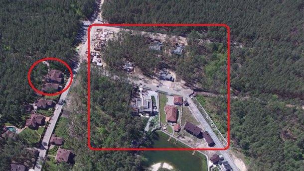 Журналисты обнародовали брутальную сделку с землей возле дома семьи генпрокурора