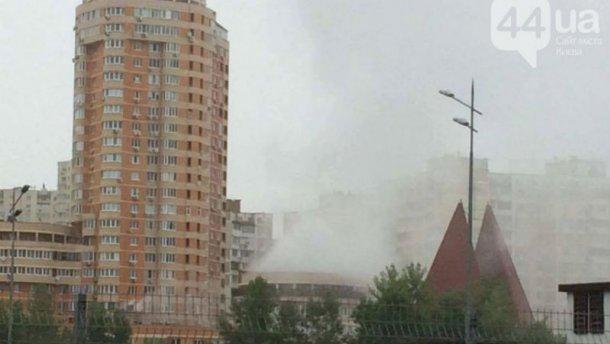 СРОЧНО! В Дарницком районе столицы прогремел взрыв (ФОТО)