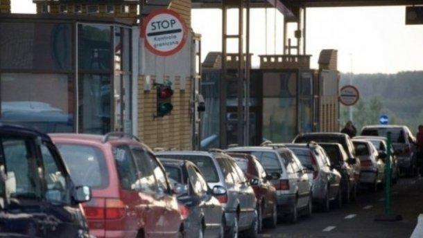 На границе с Польшей застряло рекордное количество машин