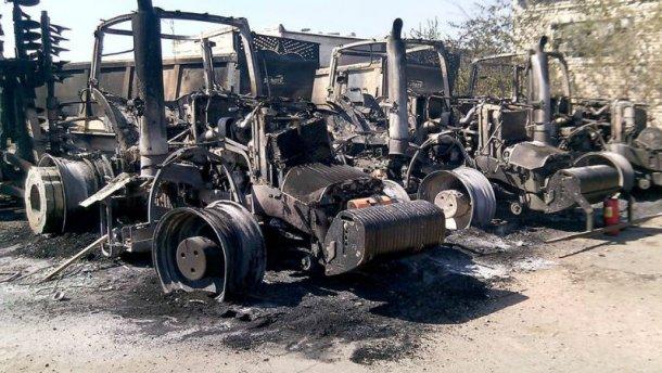 Террористы обстреляли имущество Ахметова – появились фото