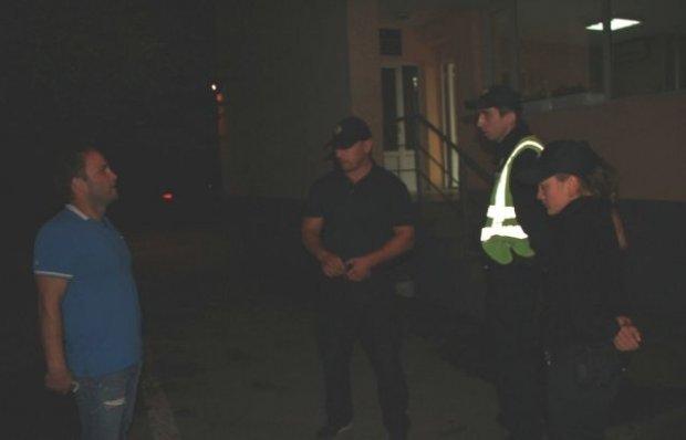 В Мукачево патрульные задержали пьяного судью на BMW