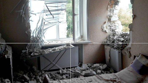 Появились жуткие фото последствий ночного обстрела Марьинки