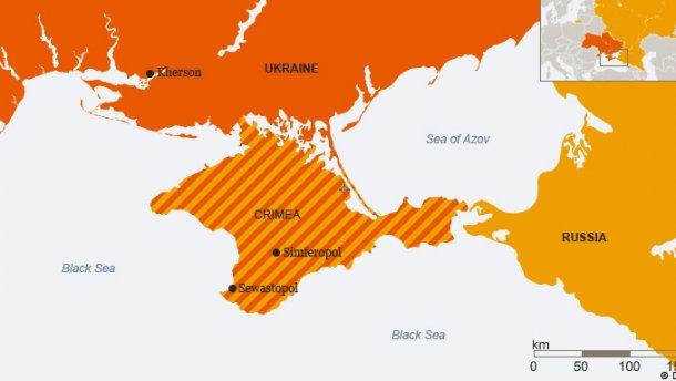 Французское издательство исправило скандальные карты с «российским» Крымом