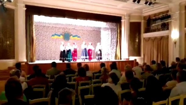 В Москве устроили гуляния по случаю Дня Независимости Украины: эксклюзивное видео