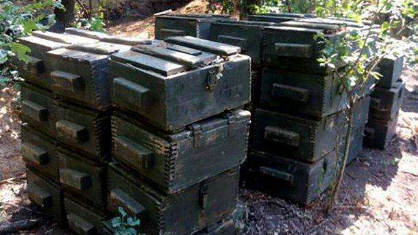 Боевики серьезно подготовились к терактам на День Независимости: СБУ нашла огромный тайник (ФОТО,ВИДЕО)