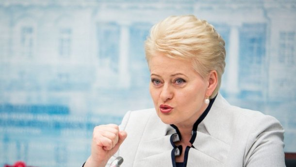 Президент Литвы обратилась к украинцам на соловьиной