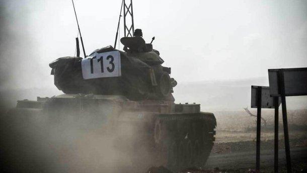 Турция ввела танки в Сирию