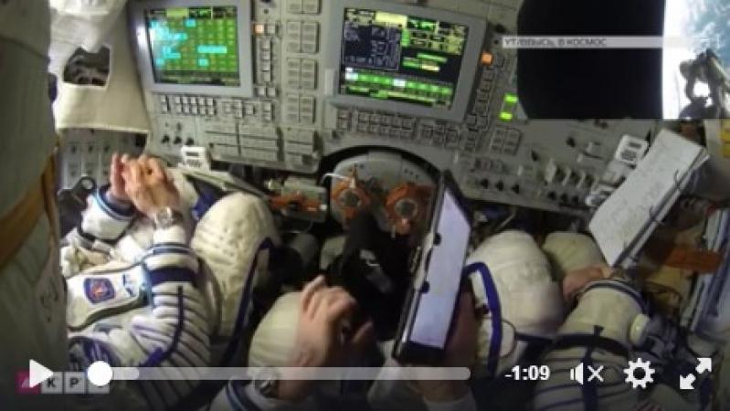 «Бидлонавты»: люди возмущены матерным диалогом россиян в космосе